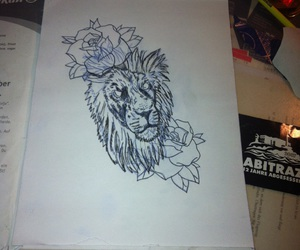 lion, lowe, and old school image