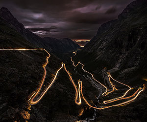 norway, lights, and beautiful image