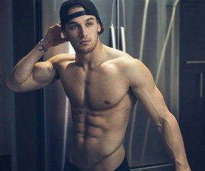 abs, men, and muscular image