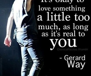gerard way, my chemical romance, and quotes image