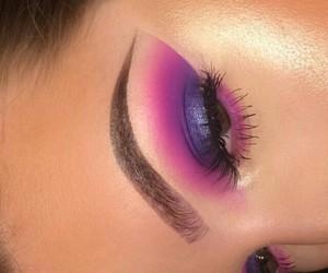 brow, eyeshadow, and highlight image