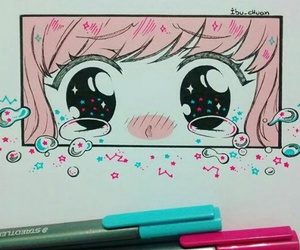 art, draw, and manga image