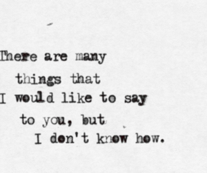 oasis, wonderwall, and quote image