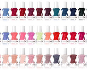 beauty, essie, and gel nail polish image