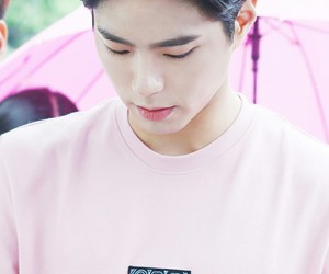 on point and park bo gum image