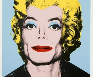 Marilyn Monroe, art, and pop art image
