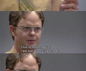 dwight schrute, lol, and funny image
