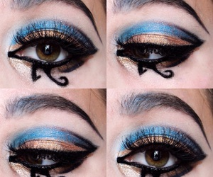beauty, blue, and cleopatra image