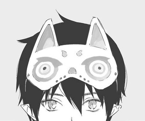 anime, ao no exorcist, and manga image