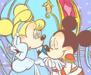 cinderella, disney, and mickey image