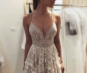 dress, perf, and cute image