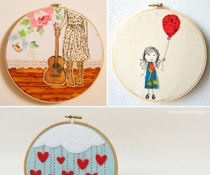 diy, embroidery, and ideas image