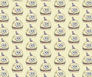 background, patternator, and bob esponja image