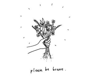 flowers and brave image