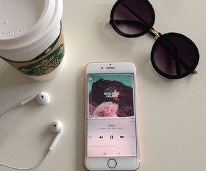 iphone, halsey, and music image