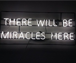 quote, light, and miracle image