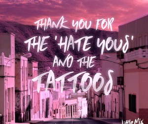 little mix, shout out to my ex, and Lyrics image