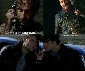 supernatural and the walking dead image