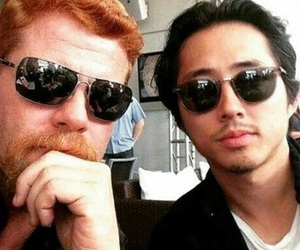 Abraham, glenn, and the walking dead image