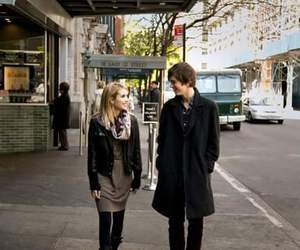 emma roberts, the art of getting by, and freddie highmore image