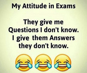 exams and funny image