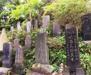 monument, tombstone, and japanese temple image