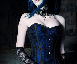 beautiful, blue, and pale image