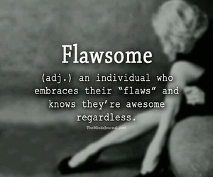 flaws and flawsome image