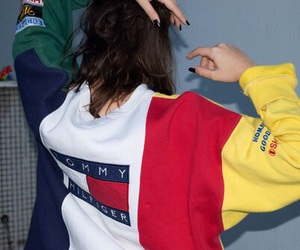 tommy hilfiger, grunge, and style image