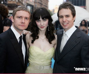 Martin Freeman, Sam Rockwell, and zooey deschanel image