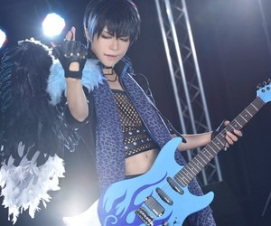 cosplay, japan, and rock image