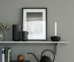 design, interiors, and grey image