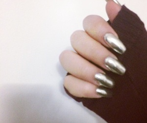 chrome, uñas, and nails image