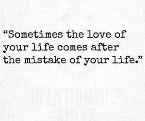 love and mistakes image