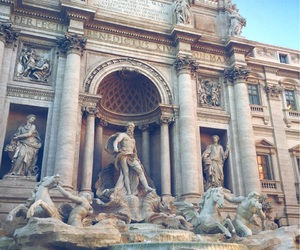 italy, rome, and trevi image
