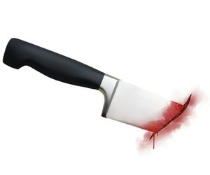 blood, knife, and png image