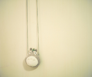 doll, necklace, and totoro image