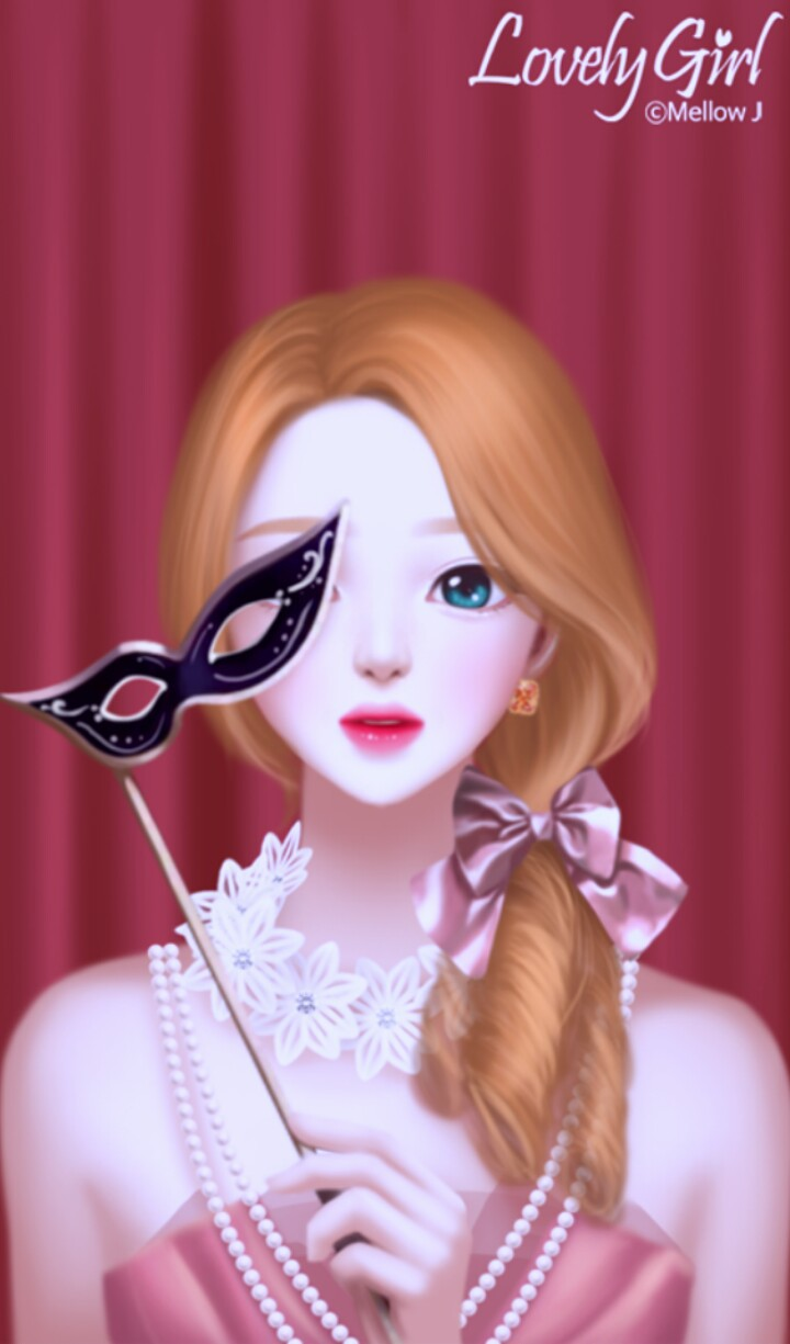 Enakei Art Art Girl Background Beautiful Beautiful Girl