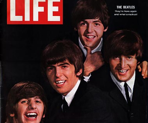 the beatles, magazine, and beatles image
