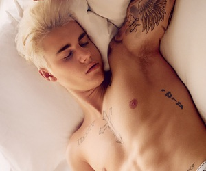 Calvin Klein, JB, and photoshoot image