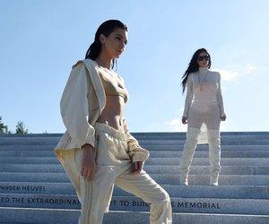 kendall jenner, kim kardashian, and fashion image