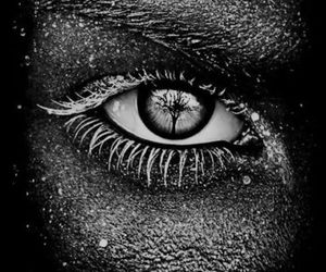 b&w, eye, and wow! image