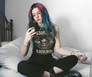 alternative, cute girl, and long hair image