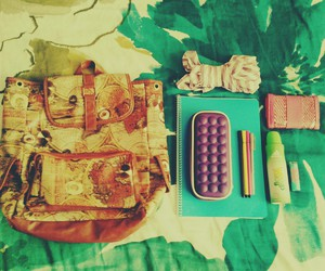 adidas, pencil case, and baby lips image