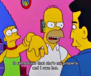 simpsons, the simpsons, and funny image