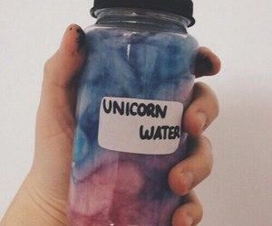 unicorn, water, and tumblr image