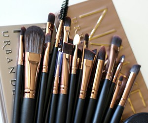 Brushes, cosmetic, and makeup image