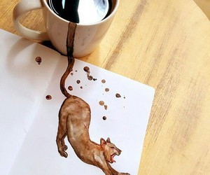cat and tea_time image
