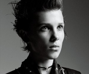 beautiful, black and white, and eleven image
