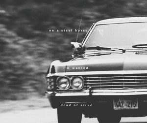 supernatural, impala, and spn image